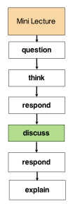 Fig 1. Peer Instruction Workflow